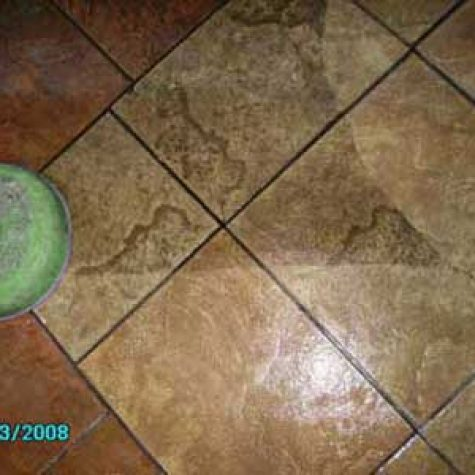 ceramic tile and grout cleaning in Dallas