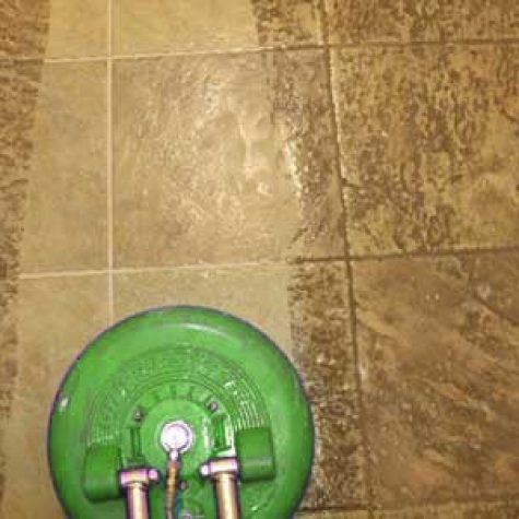 home tile and grout cleaning in Dallas